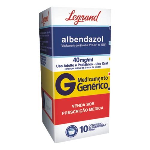 remedio albendazol