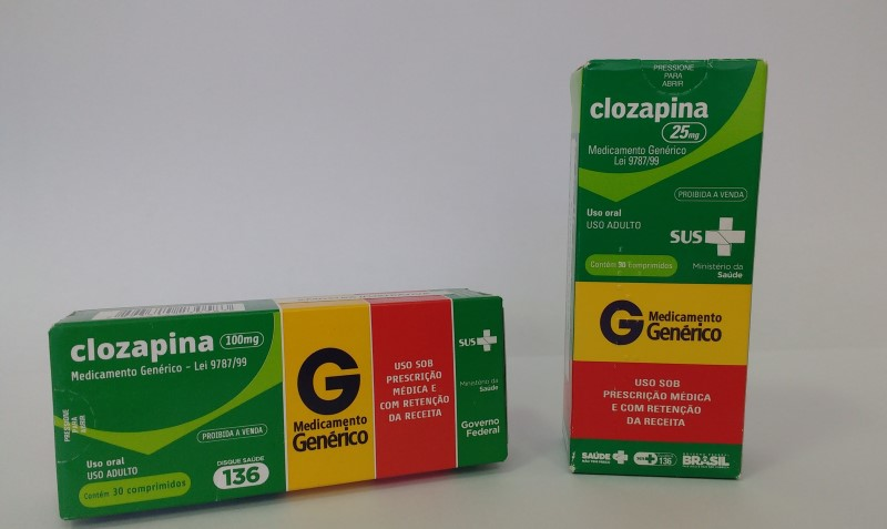 clozapina preço
